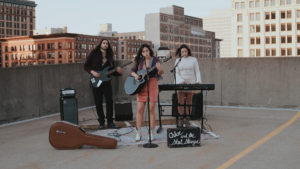 Full Body Band Shot Rooftop