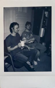 Cody and Eric Band polaroid